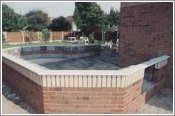 Concrete the conservatory floor