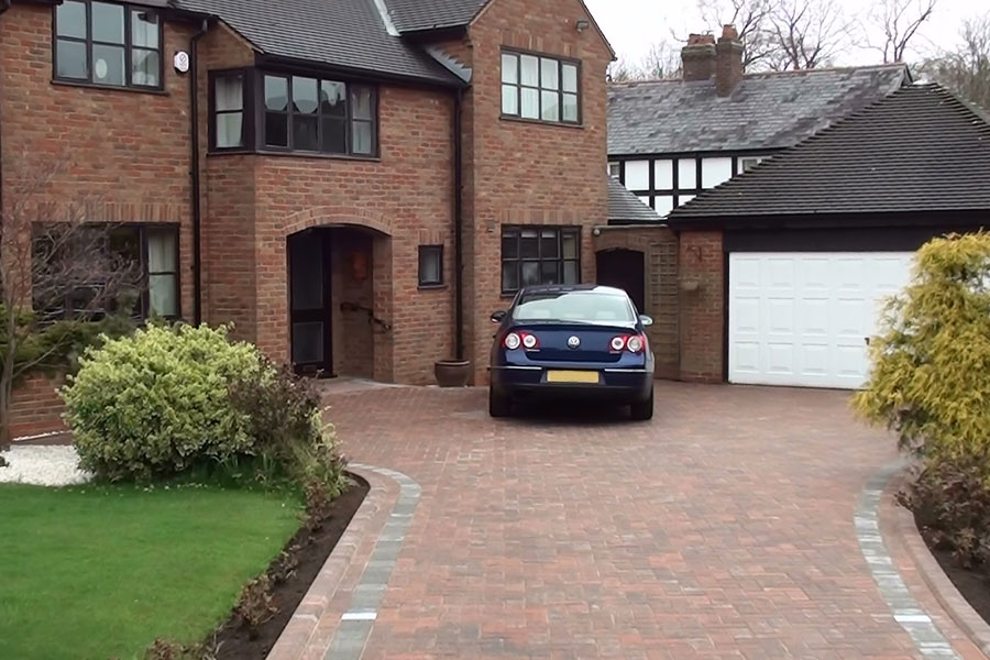 Marshalls Driveline 50 Brindle Block Paving