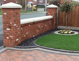 Garden Wall in Leyland