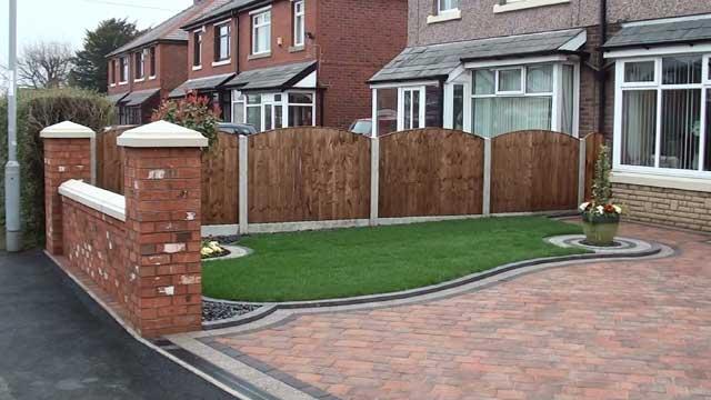 Marshalls drivesett duo driveway in leyland near preston for Ground force garden designs
