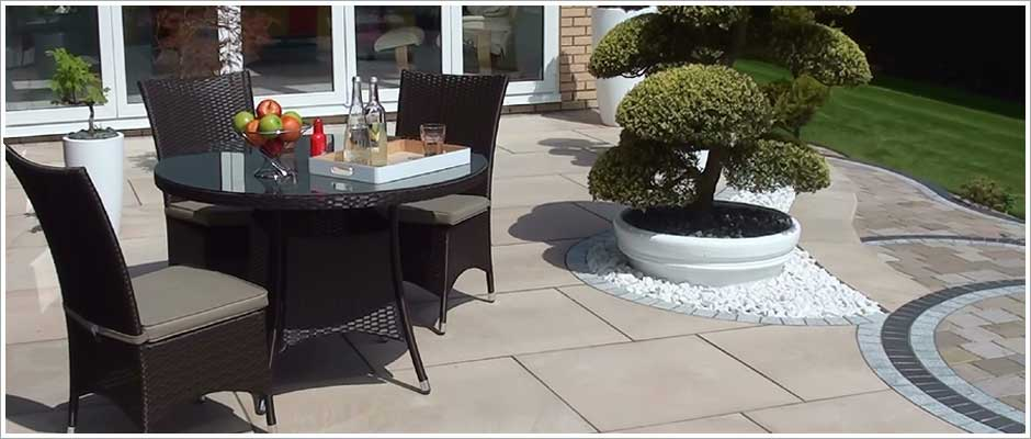 Marshalls Fairstone King Size Paving in Bolton