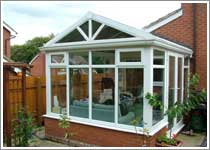 Gable End Conservatory in Blackburn