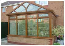 Light Oak Gable End Conservatory in Westhoughton