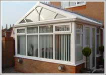 White Gable End Conservatory in Manchester
