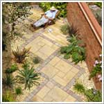 Chancery garden patio paving flags