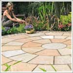Haworth moor riven patio paving