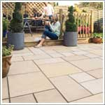 Haworth moor sawn patio paving