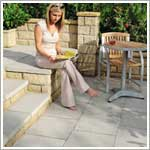 Perfecta patio paving flags