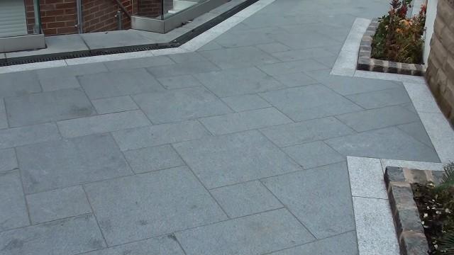 Marshalls Eclipse Granite Patio paving in Manchester LJN Blog