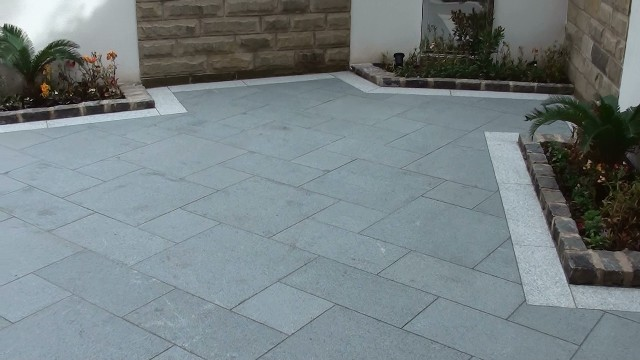 Marshalls eclipse granite garden patio paving in worsley manchester workwithnaturefo
