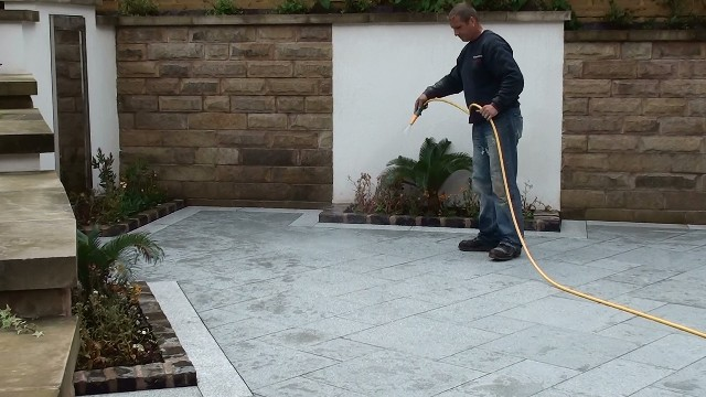 Marshalls Eclipse Granite Patio Paving In Manchester   LJN Blog Posts    Landscape Juice Network