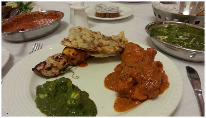 Another fantastic Indian meal served in the restaurant at the Umed Bhawan Palace, the food was delightful and the service was excellent