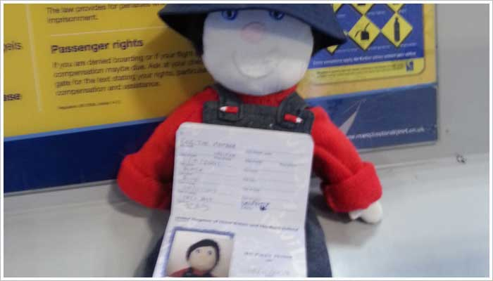 Reg the Marshalls register mascot