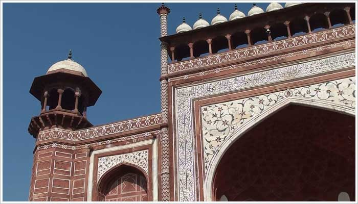 The Taj Mahal Main Gateway