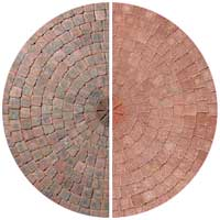 Drivesett Duo Cinder and Terracotta Circle