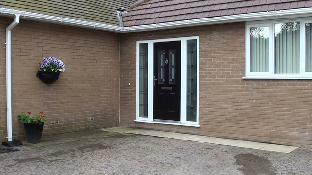 Marshalls Argent Patio Before the work commenced