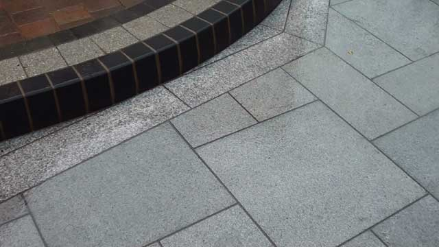 Eclipse Granite Patio in Manchester