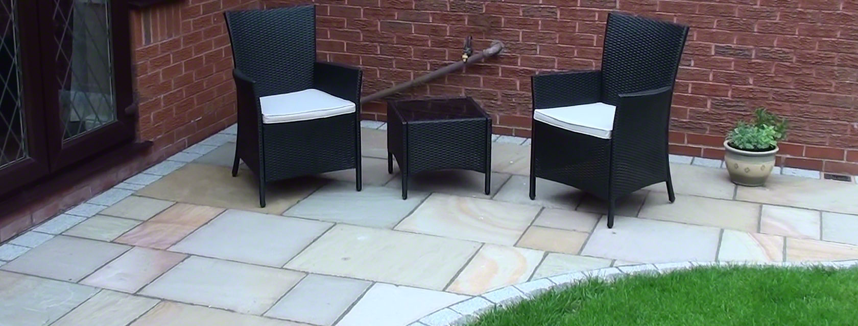 Marshalls Buff Saxon Patio