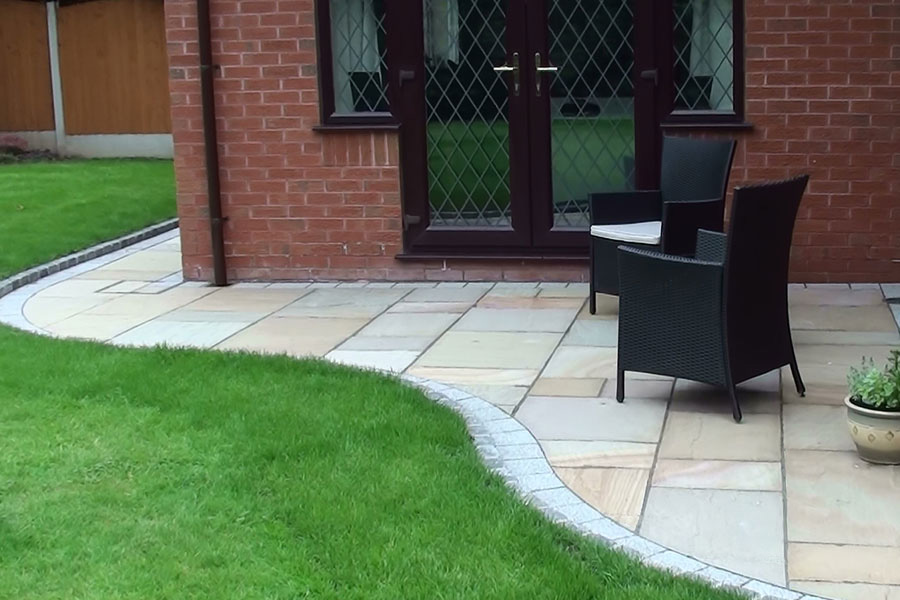 Fairstone Riven Autumn Bronze Patio