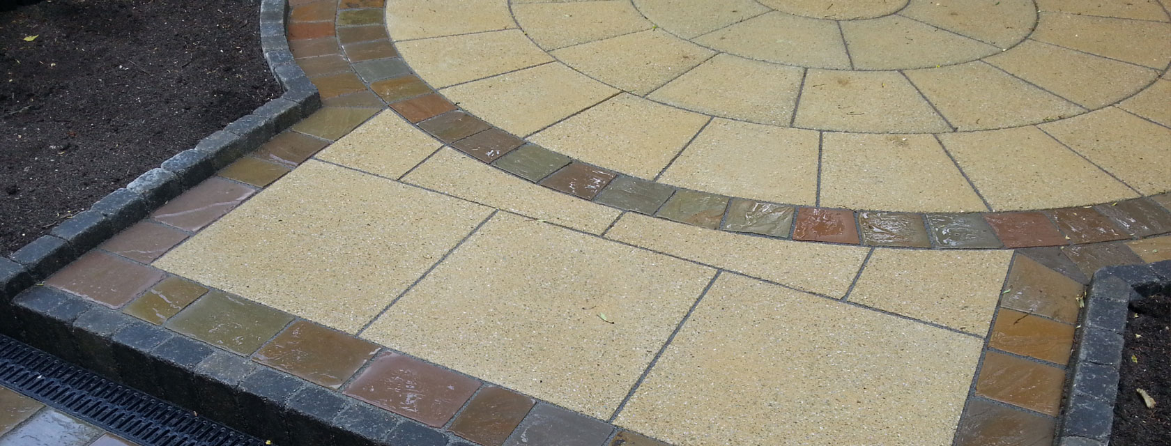 Marshalls Saxon 3 Ring Patio