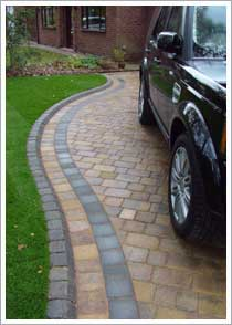 Marshalls Tegula Drivesett Duo Driveway in Culcheth near Warrington