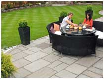 Garden Patio in Westhoughton