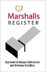 Marshalls Register Approved Landscape Contractor and Driveway Installer
