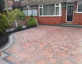Drivesett Duo Block Paving Driveway in Manchester