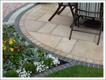 Garden Patio Paving in Leyland